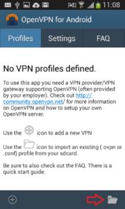 ako nastaviť VPN pre Android 4