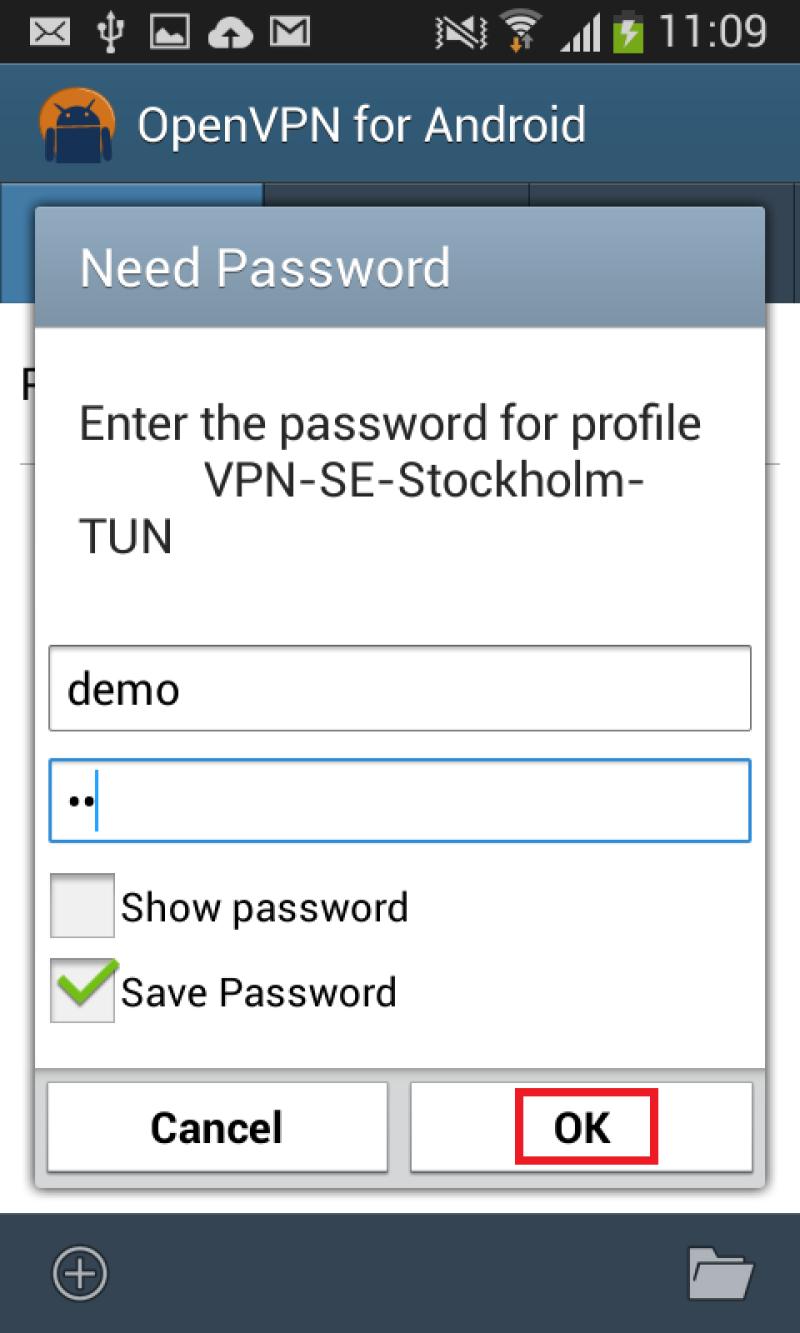 ako nastaviť VPN pre Android 6