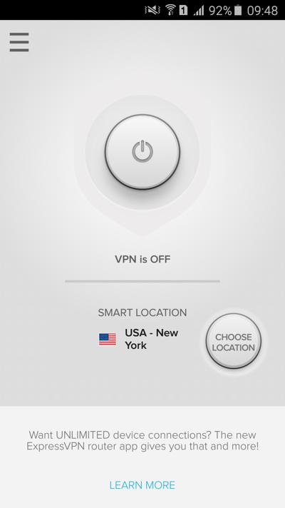 Express VPN Android VPN aplikácia