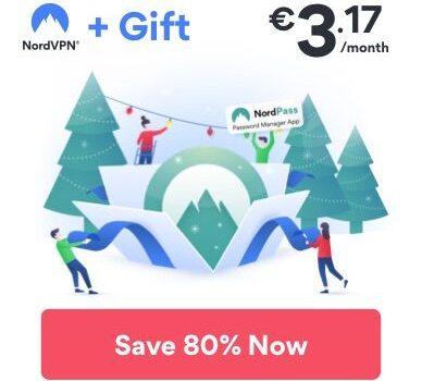 Skvelá vianočná akcia u NordVPN 2019!